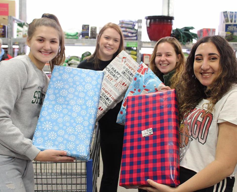 CJ Students Step Up and Give Back